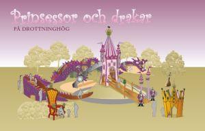 Drottninghög_Prinsessor och drakar lekplatsen