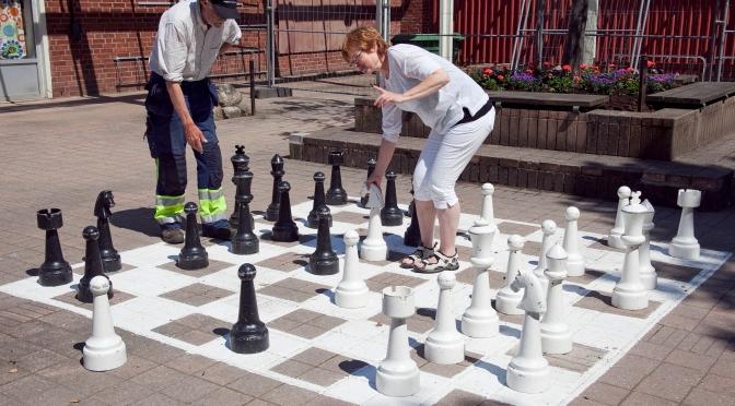 Vill du spela ett parti schack?