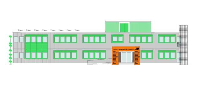 Ny förskola på Grönkullagatan