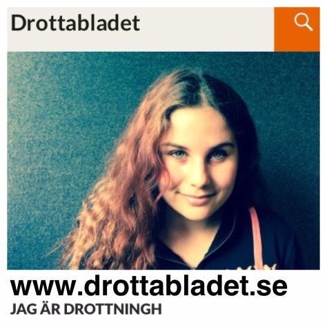 Bild till Drottabladet, underlag idea