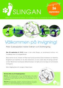 Slingan - invigning - affisch (2)