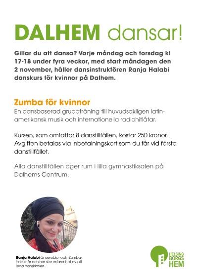 Affisch Dans på Dalhem