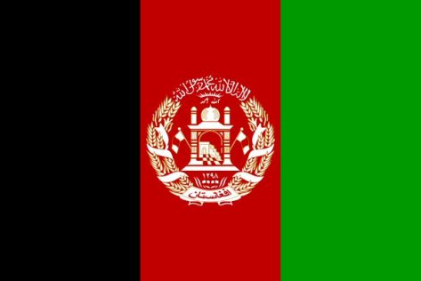 afhanska flaggan