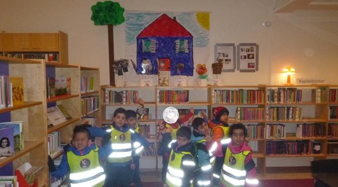 Utställning på biblioteket.