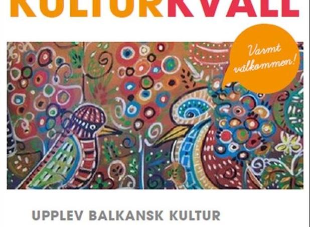 Balkansk Kulturkväll