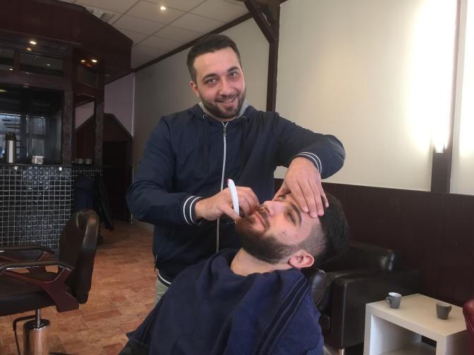 Drottninghögs egen frisör och barbershop har öppnat