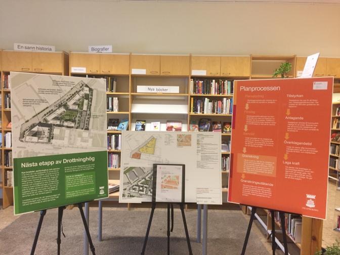 Se planerna för västra delen av Grönkullagatan på Idé A