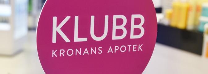 Höstens VIP-dag på Kronans apotek den 9/10 kl. 13.00-18.00