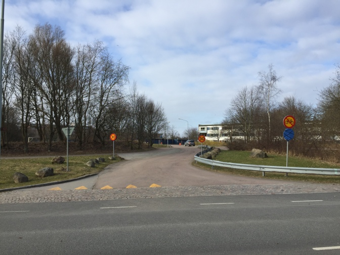 Ny tillfällig in- och utfart till Blåkullagatan