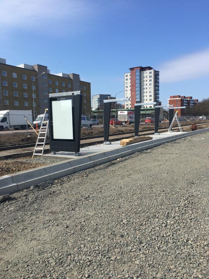 Fullständigt utvecklingsprojekt för Vasatorpsvägen är i mitten av första ettapen.