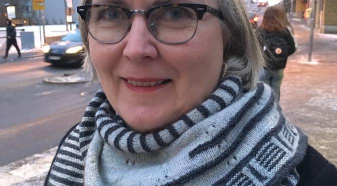 Idé A on tour: Anneli Palmsköld – En historia om stickning