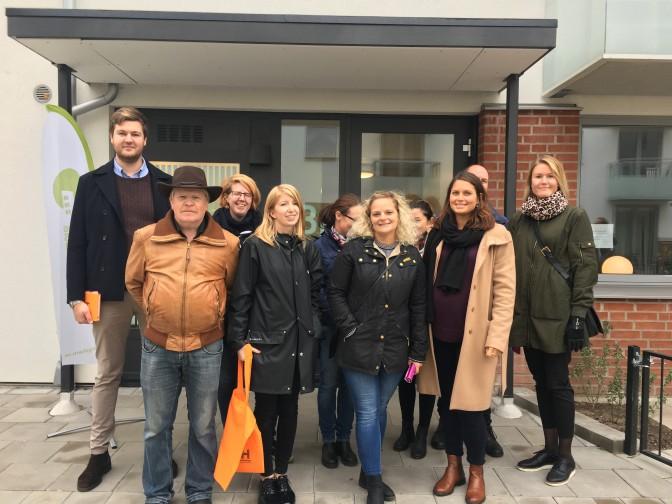 Nya besökare från Gnosjö kommun var på Drottninghög.