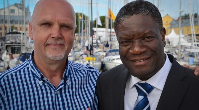 Berthil Åkerlund – om Nobels fredspristagare Denis Mukwege