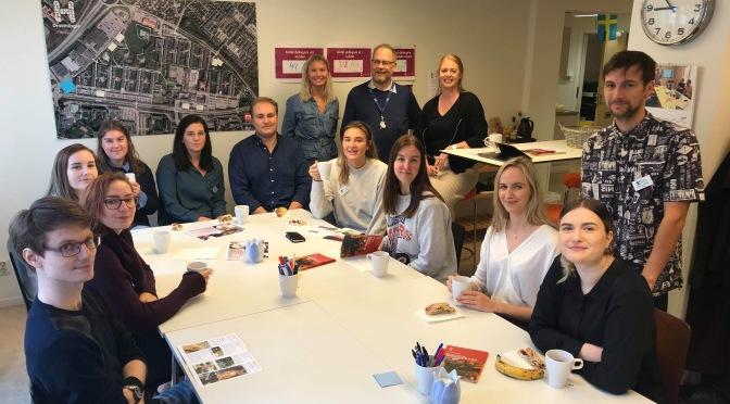 Besök av familjen Helsingborgs traineeprogram