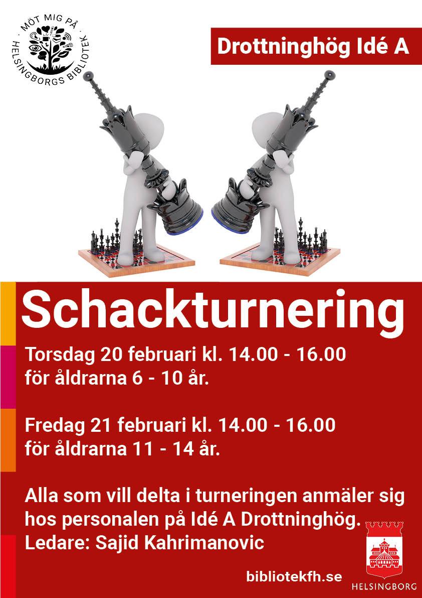 Schackturnering 2020-02